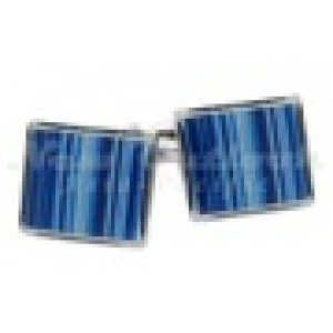 F3G1 Blues Series Stripped Cufflinks