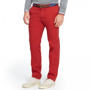 Polo Ralph Lauren Men's Slim Fit Red Chinos Pants