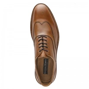 Aston Grey Brunswick Wingtip Oxford