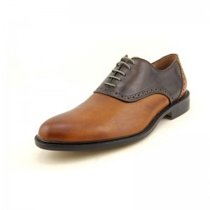 Aston Grey Collection Ashbery Mens Leather Oxford