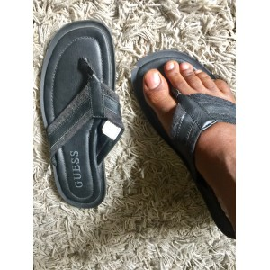 Guess Mens Palm Slippers