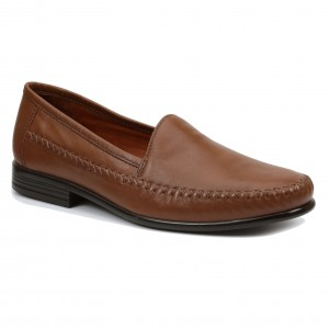 Giorgio Brutini Mens Mortoni Tan Leather Loafer shoes