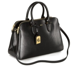 Lauren Ralph Lauren Newbury Double Zip Dome Satchel