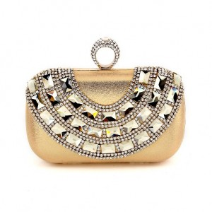Ur Eternity Crystal Satin Evening Bag