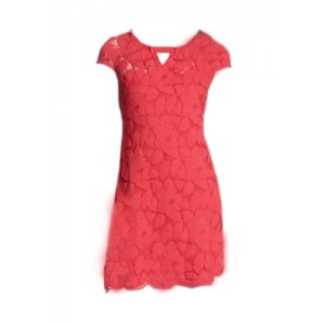 Just Taylor Lace Sheath Dress