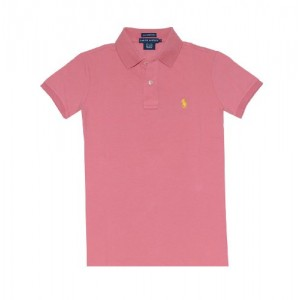 Ralph Lauren Women The Skinny Polo Pony Logo T-Shirt