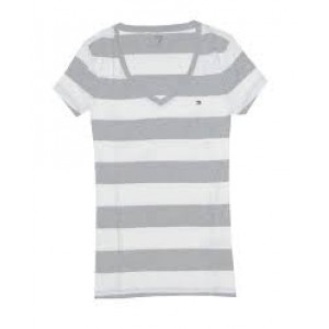 Tommy Hilfiger Female V Neck Tee Shirts