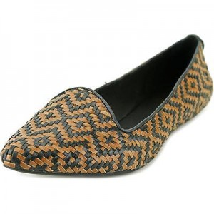 Elliott Lucca Bonita Woven Leather Slip-On Flats