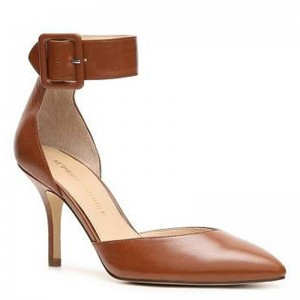 "Audrey Brooke ""Hylda"" Leather Pumps"