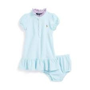 Ralph Lauren 2 Piece Girls Dress