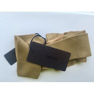Prada Men's Knitted Tie
