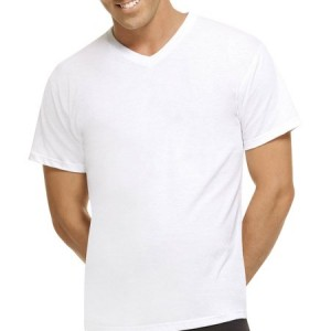 Hanes Men's Fresh IQ Comfort Blend V-Neck T-Shirts