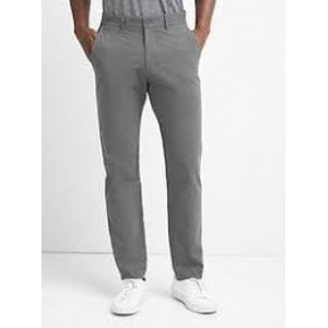 Gap Vintage Washed Straight-Fit Khakis