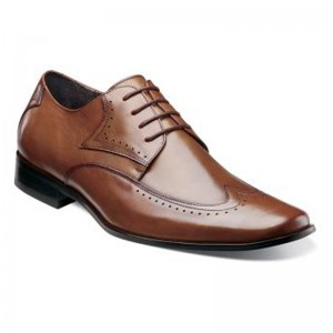 Stacy Adams Men's Atticus Wingtip Leather Modern Dress Oxford