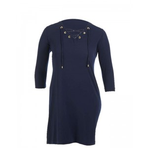 Chelsea &Theodore Lace Up Dress