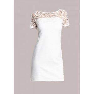 Jessica Simpson Ivory Shift Dress