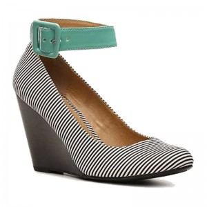 Mix No. 6 Outset Striped Wedge Pump